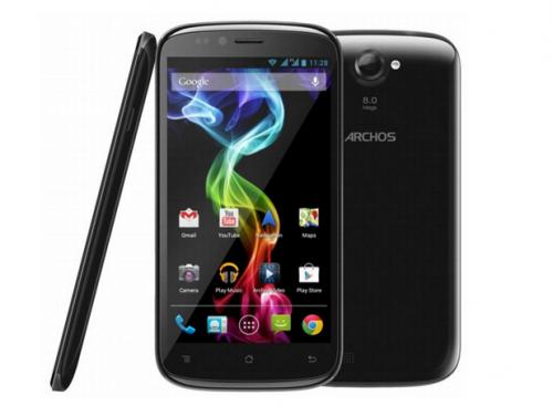 Archos готовится начать продажи трех новых смартфонов